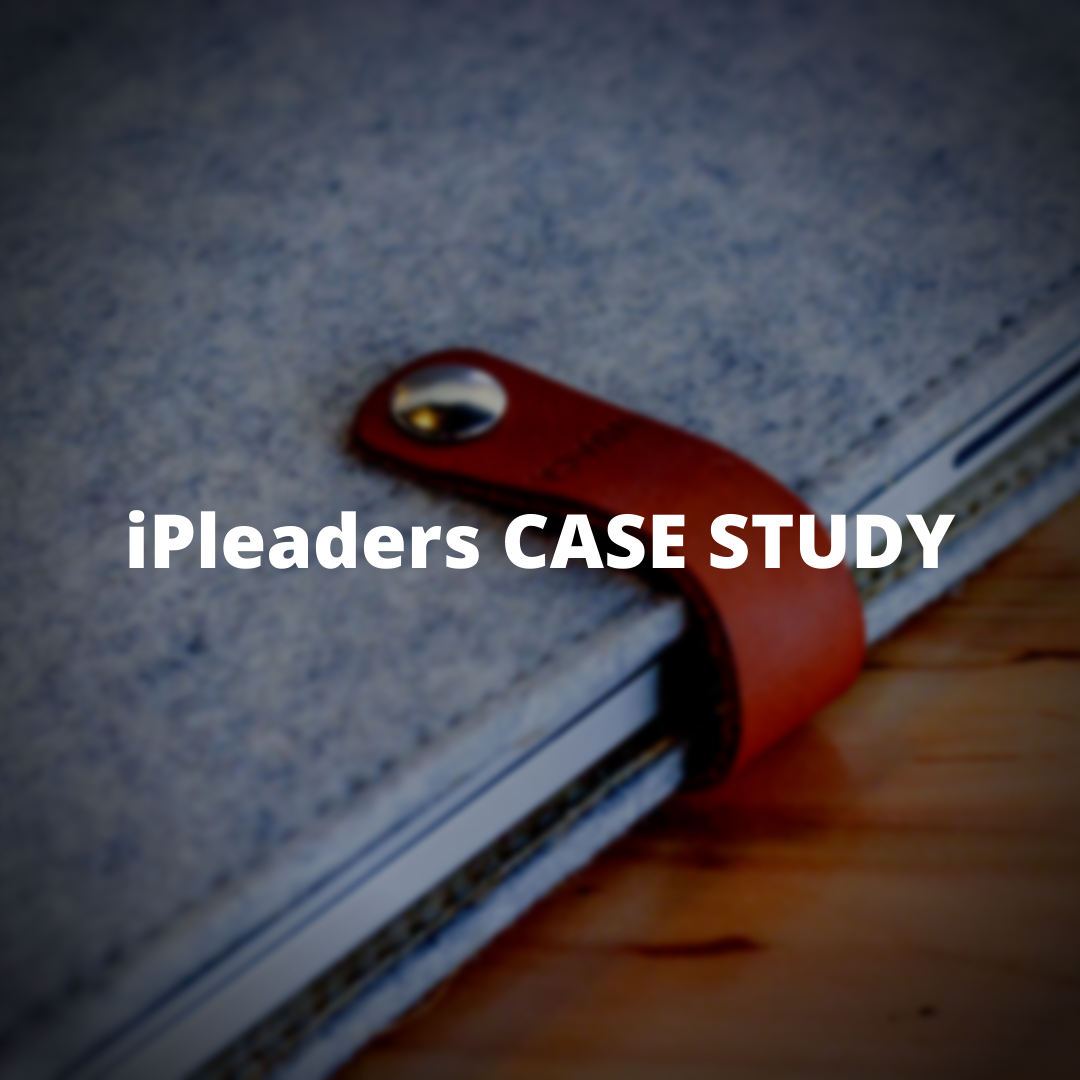 iPleaders Case Study