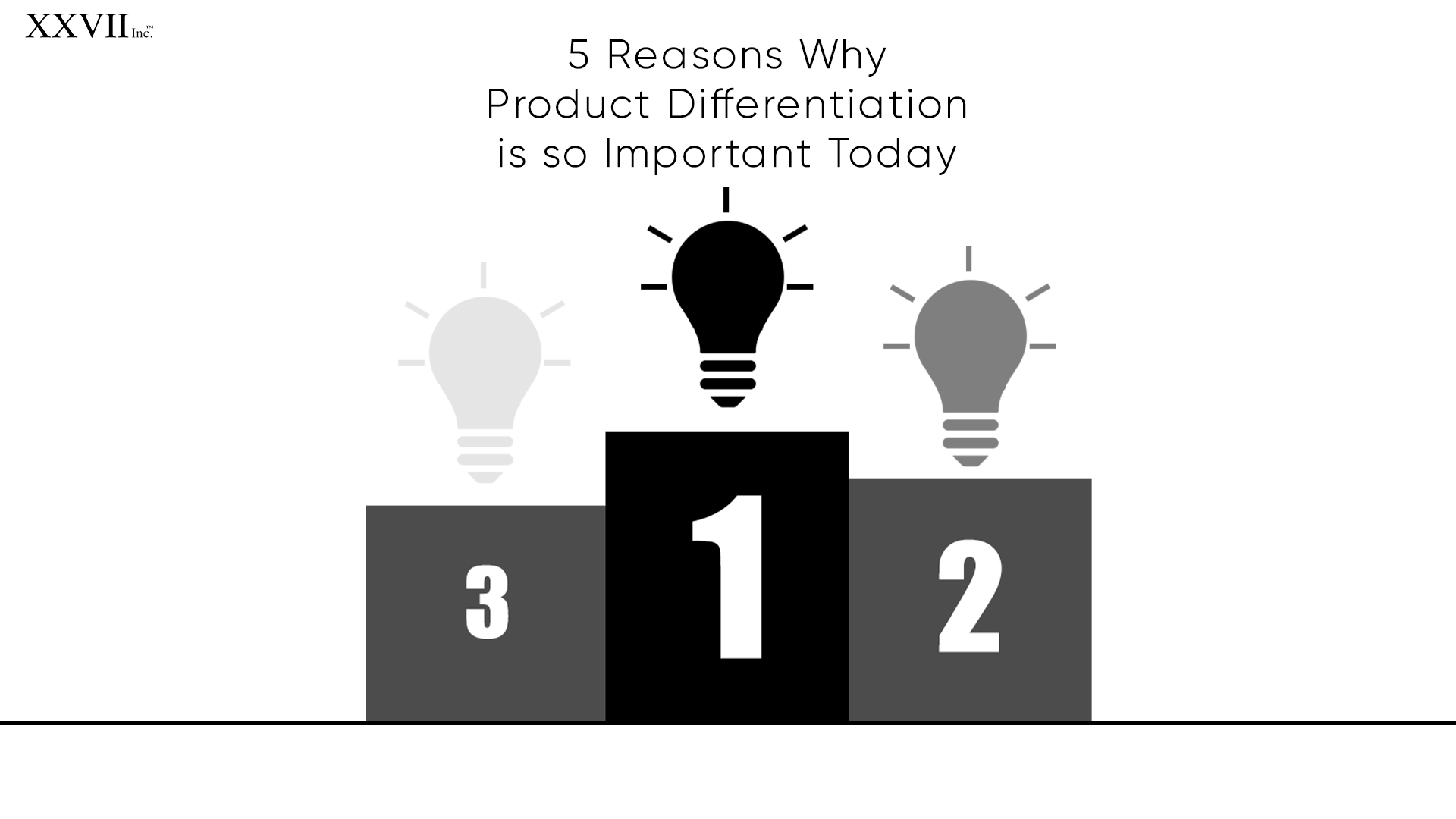 5 Reasons Why Product Differentiation is so Important Today