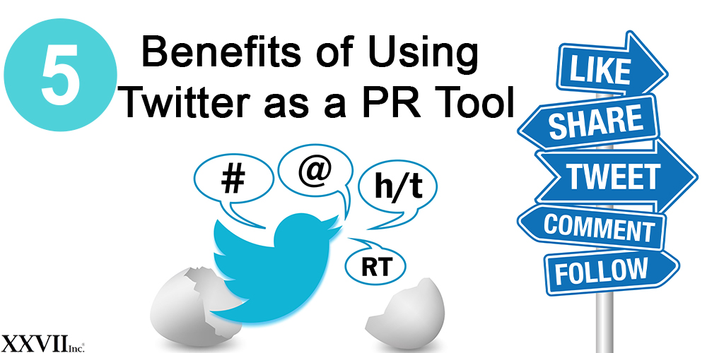 5 Benefits of Using Twitter as a PR Tool